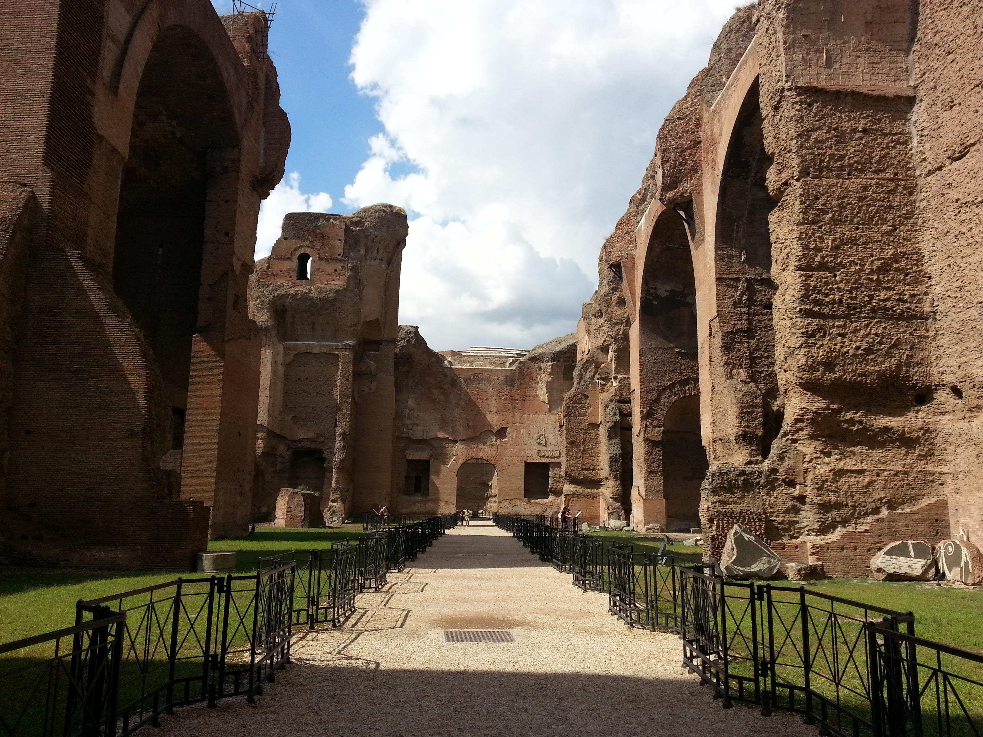 The Baths Of Caracalla The Largest Bath Complex In The