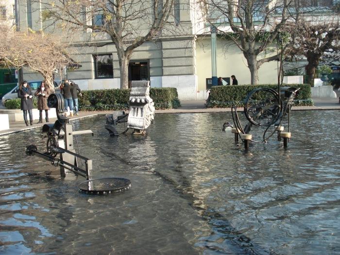 Tinguely Fountain